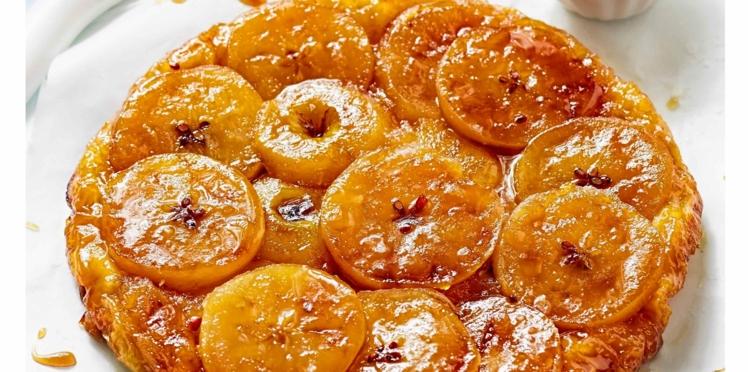 Tarte caramélisée aux pommes