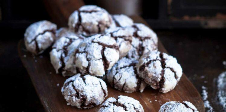Boules chocolat des neiges