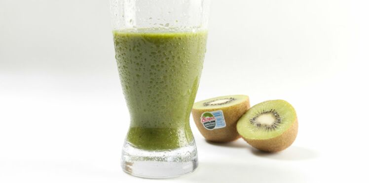 Smoothie supervert au kiwi