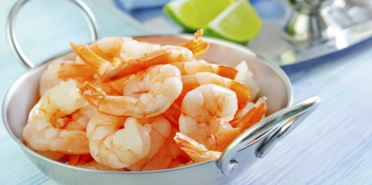 Terrine de la mer poisson blanc et crevettes