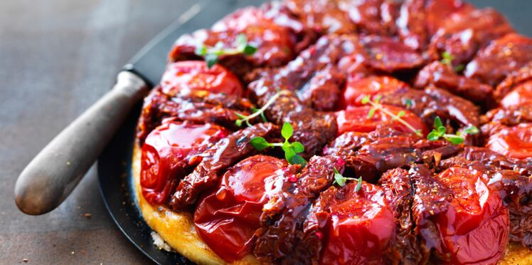 Tatin rouge comme une tomate