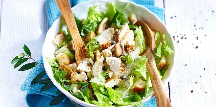 Salade César facile et rapide