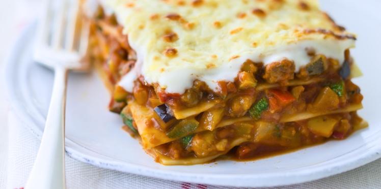 Lasagnes de légumes faciles
