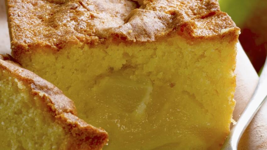 Cake aux poires à la fleur d'oranger
