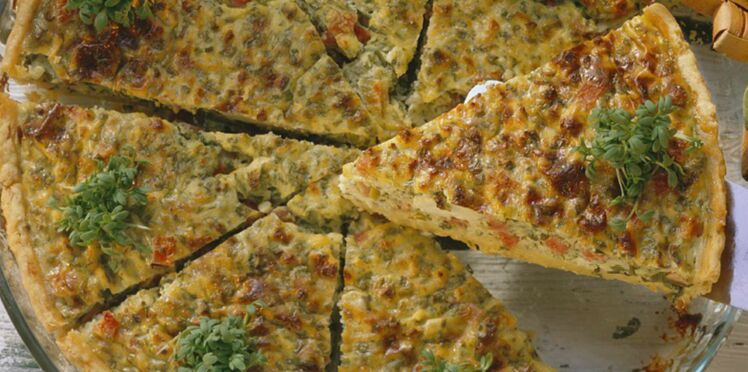 Quiche Jambon-cresson