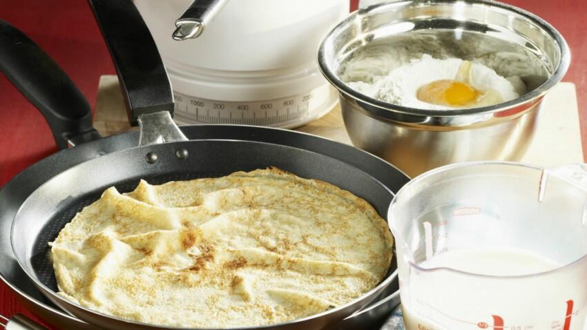 Pâte à crêpes avec 1 litre de lait