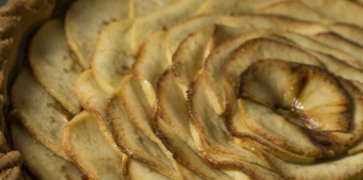 Tarte aux pommes pâte sablée