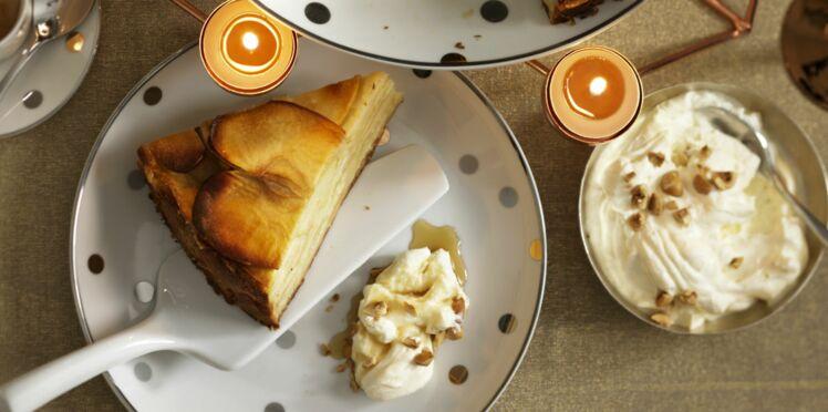 Gâteau pomme-mascarpone