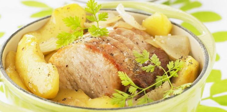 Rôti de porc en cocotte facile