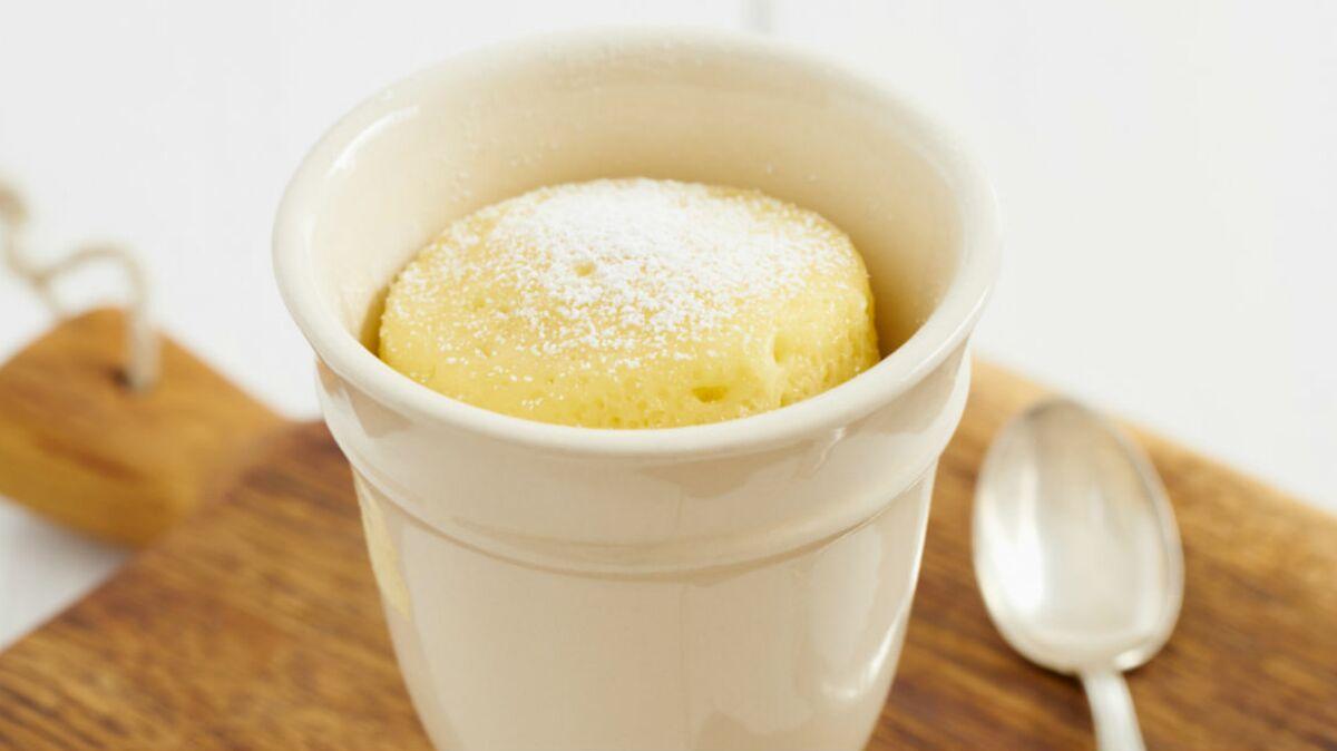 Mug cake aux dattes light