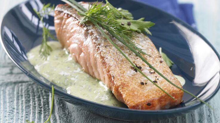 Sauce pour saumon
