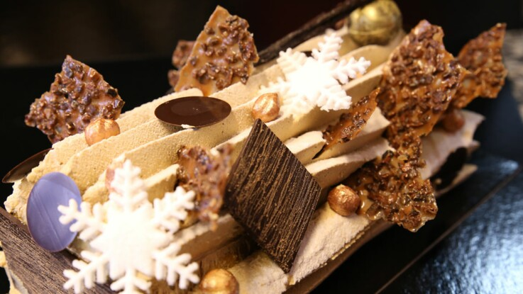 La recette de la bûche de Noël par Nicolas Bernardé
