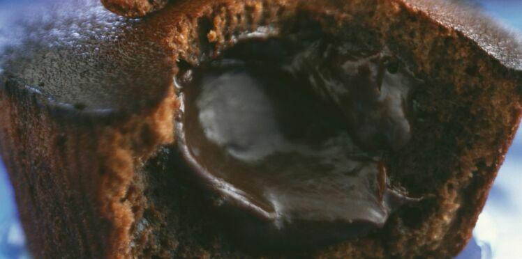 Moelleux au chocolat coeur fondant