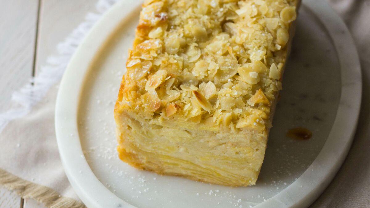 Gâteau invisible aux pommes léger et facile