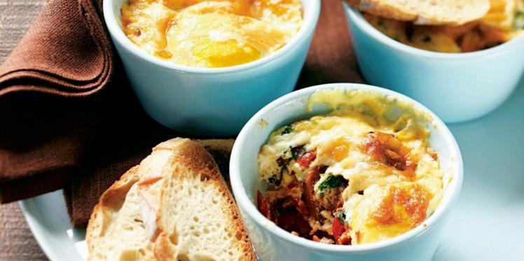 Gratins à l'oseille et aux œufs