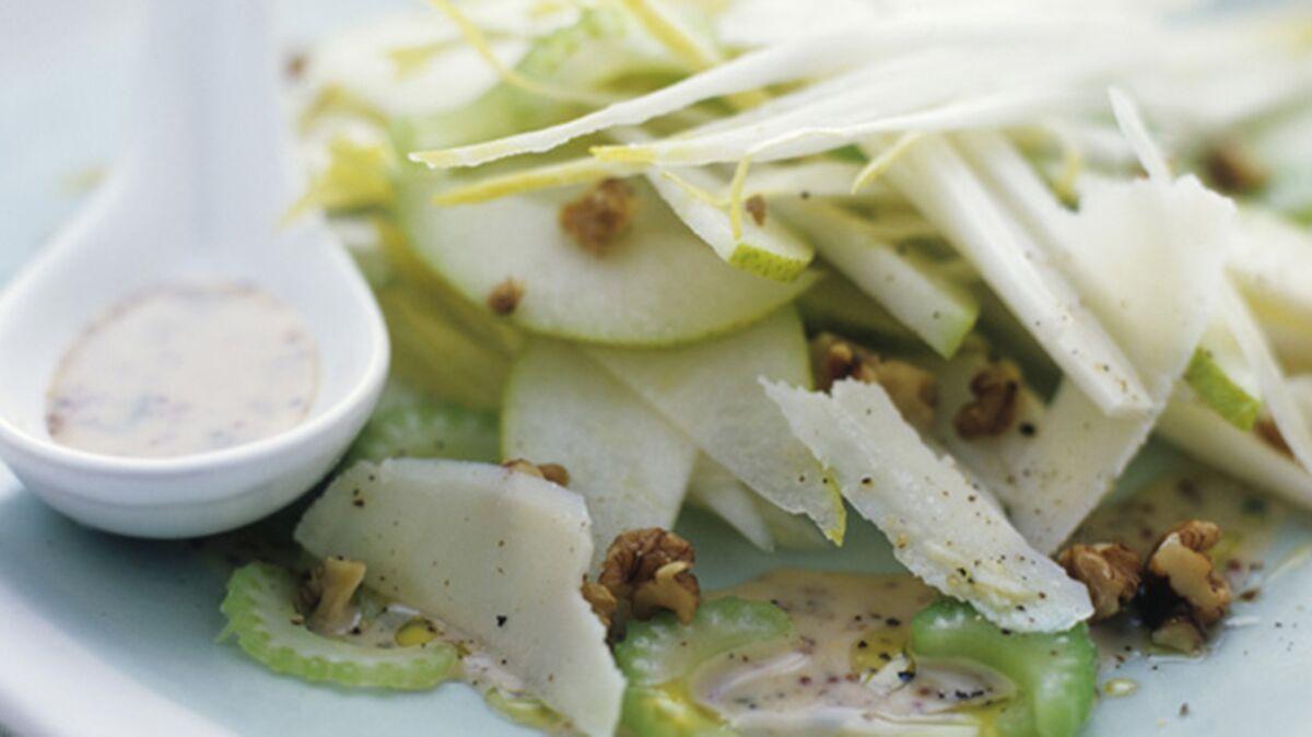 Salade de céleri aux pommes