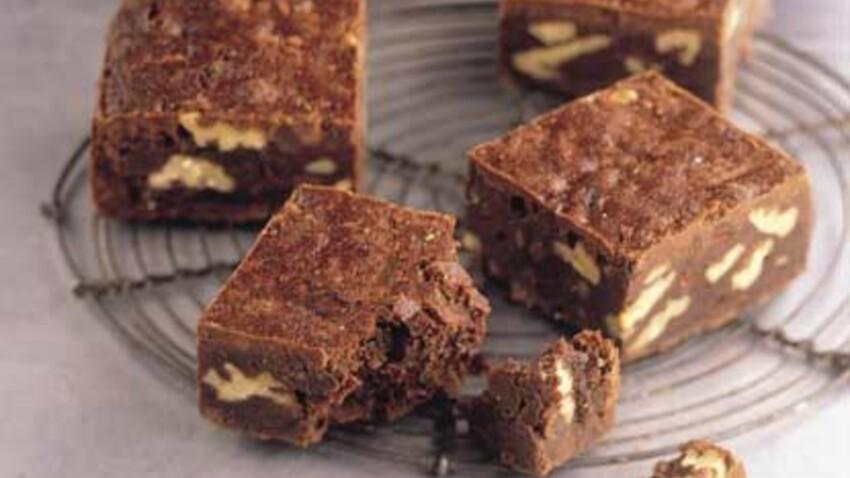Brownies chocolat noir et noix de pécan