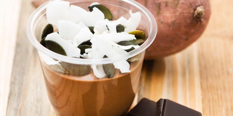 Crème au chocolat et patate douce