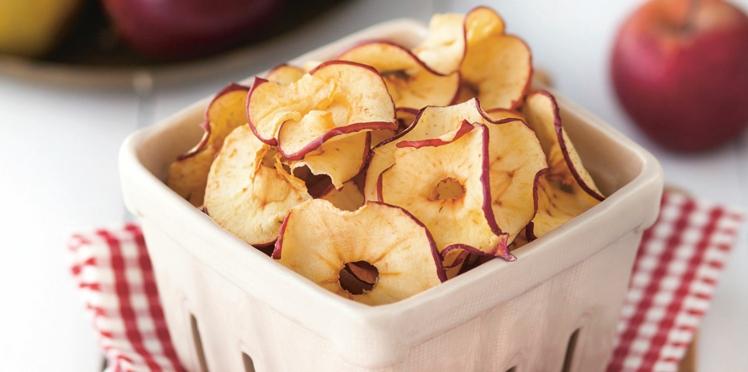 Chips de pommes aux épices douces