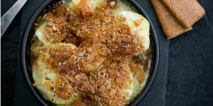 Gratin de pommes de terre aux Gavottes