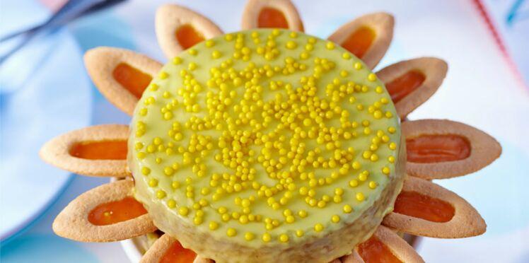 1,2,3 Soleil : Gâteau au yaourt et citron