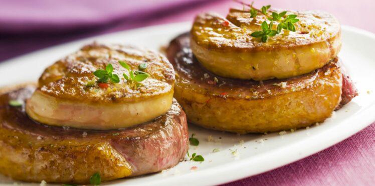 Tournedos au foie gras