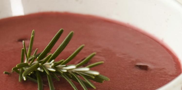 Potage de betteraves rouges