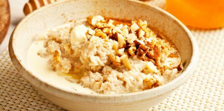 Porridge vanillé aux noix du Brésil