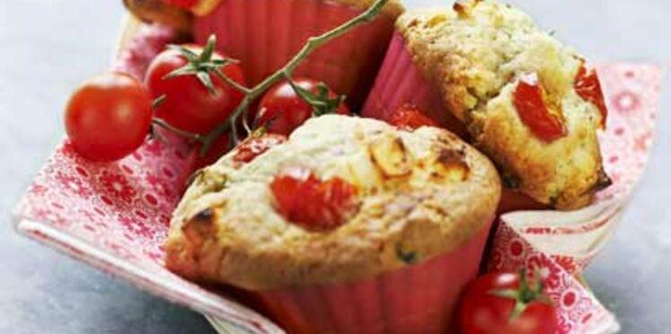 Muffin aux tomates cerises