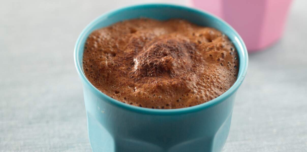Milkshake chocolat noisettes
