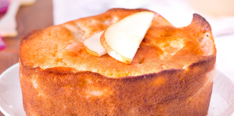 Gâteau simple à faire aux poires