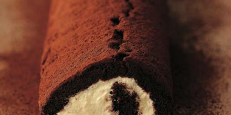 Roulé à l'orange et au chocolat