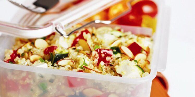 Salade de quinoa aux amandes
