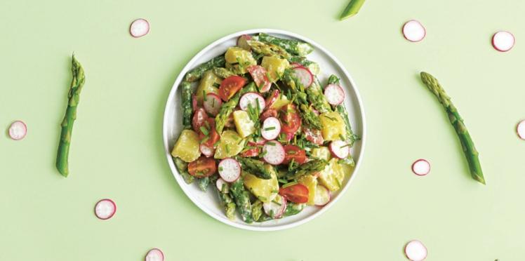 Recette anti-coup de froid : salade d'asperges