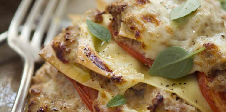 Lasagnes express au thon