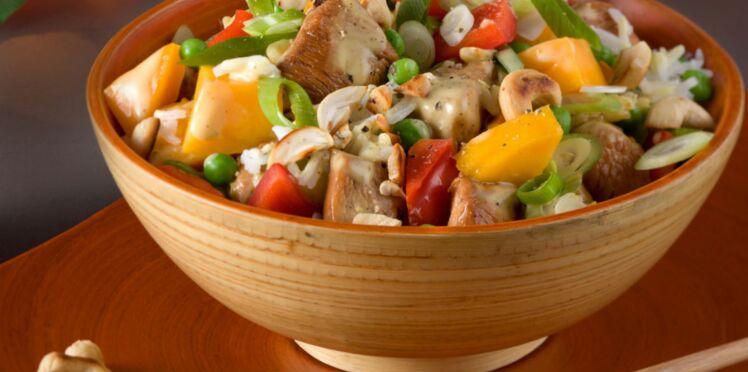 Salade de volaille à la chinoise