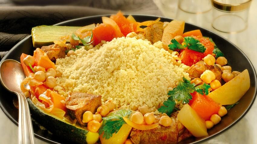 Couscous aux sept légumes : découvrez les recettes de cuisine de Femme  Actuelle Le MAG