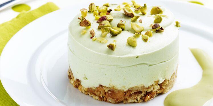 Cheesecake pistache