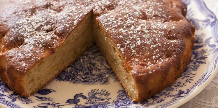 Gâteau moelleux aux pommes rapide