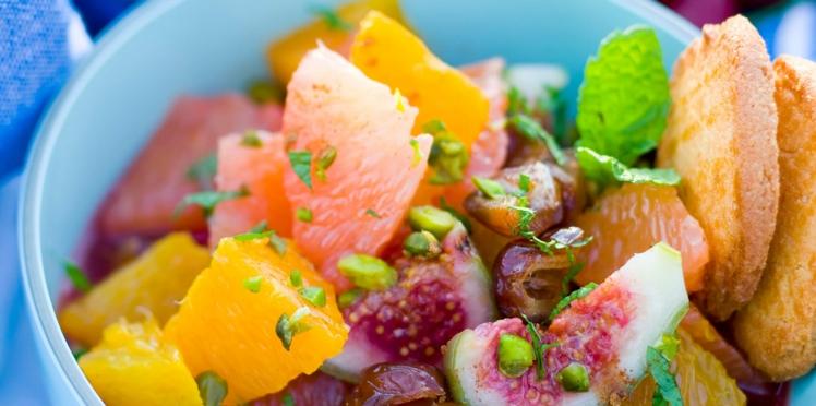 Salade d'agrumes à l'orientale