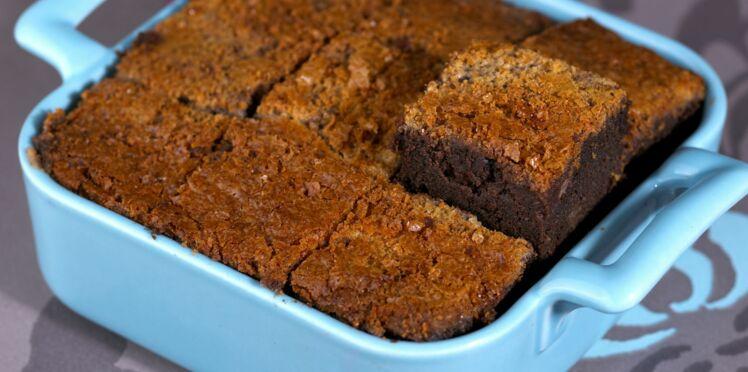 Gâteau choco-vanille