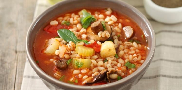 Les soupes-repas, un plat complet vite fait bien fait