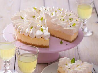 cheesecake au citron d couvrez les recettes de cuisine de femme actuelle le mag. Black Bedroom Furniture Sets. Home Design Ideas