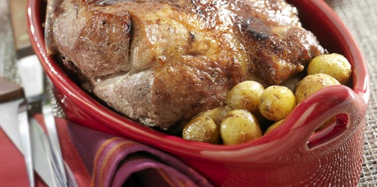 Rouelle de porc au cidre doux