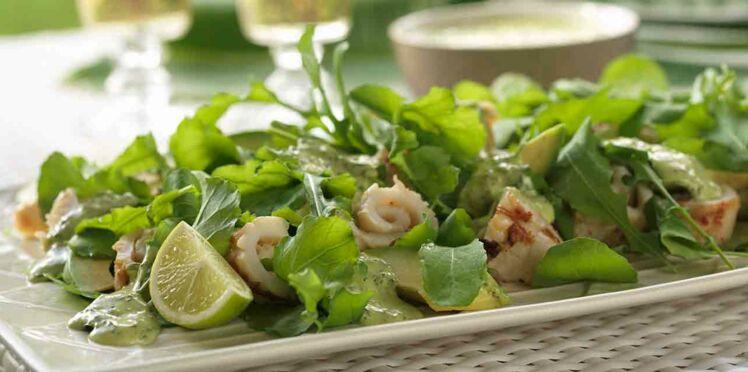 Salade de poulpes