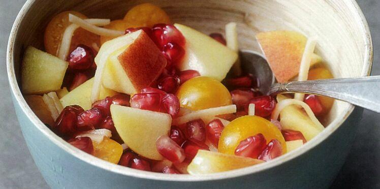 Salade de fruits saveurs exotiques