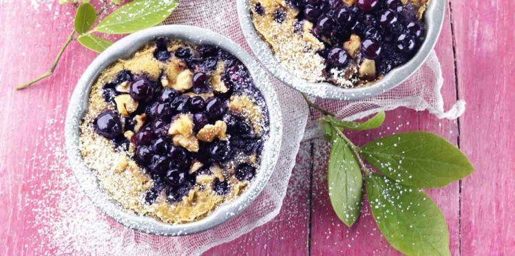 Nos recettes violettes aux myrtilles