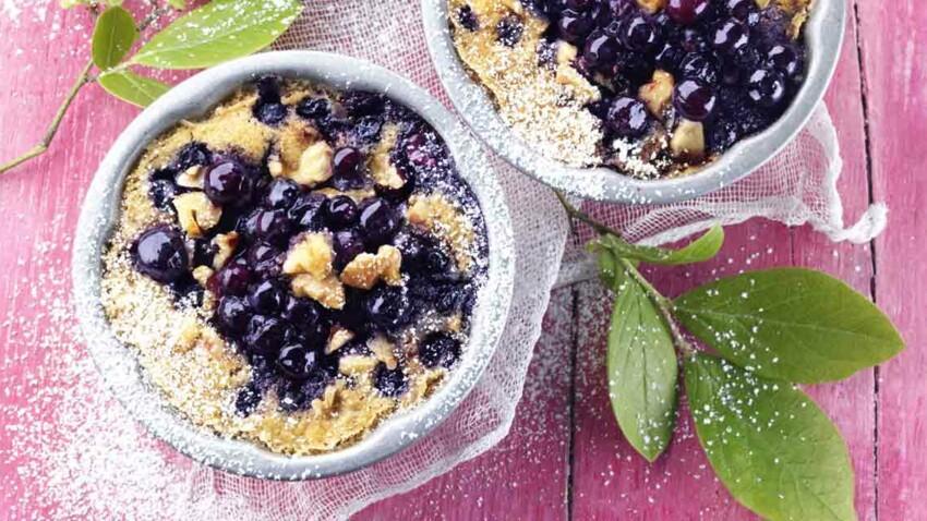 Myrtilles : nos recettes violettes en mettent plein la vue