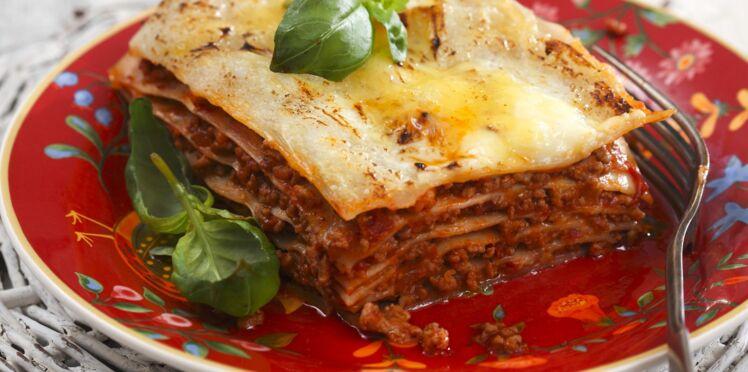 Lasagnes rapides