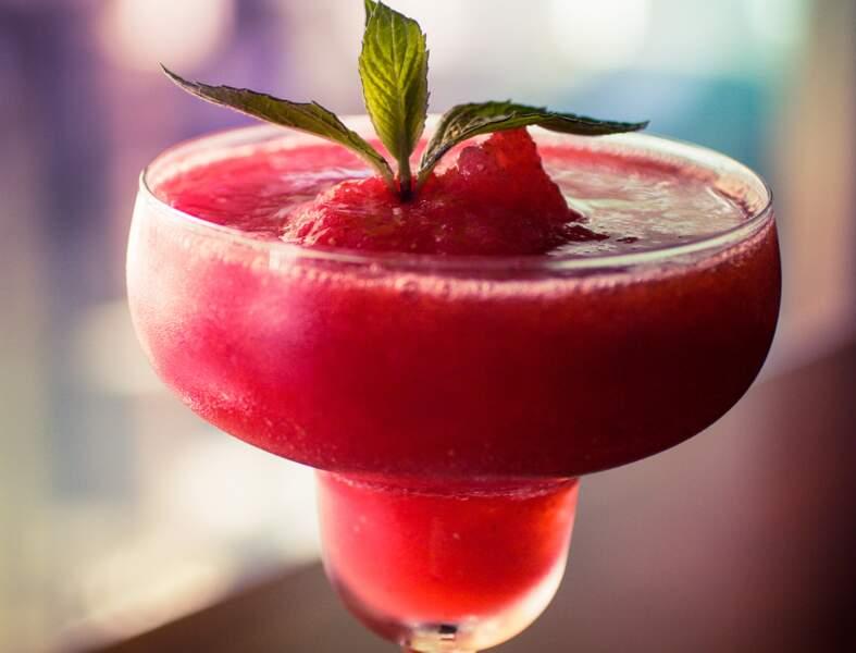 Recette du Mojito fraise frozen